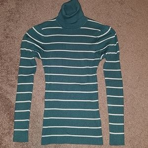 It's Our Time women's turtleneck sweater- size L